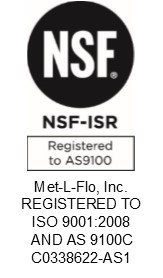 AS9100 Certified - ISO 9001:2008 Registered