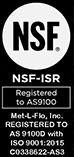 AS9100 Certified - ISO 9001:2015 Registered